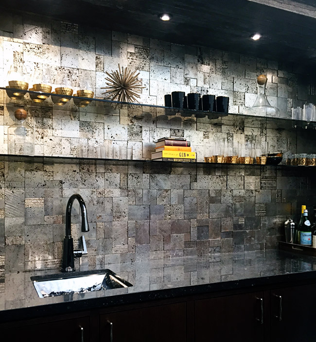 Metallic Ann Sacks Tile at KBIS 2015
