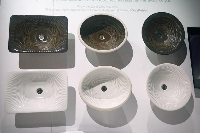 Kohler Artist Edition Sinks at KBIS 2015