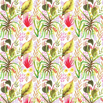 Repeatable pattern from doodles
