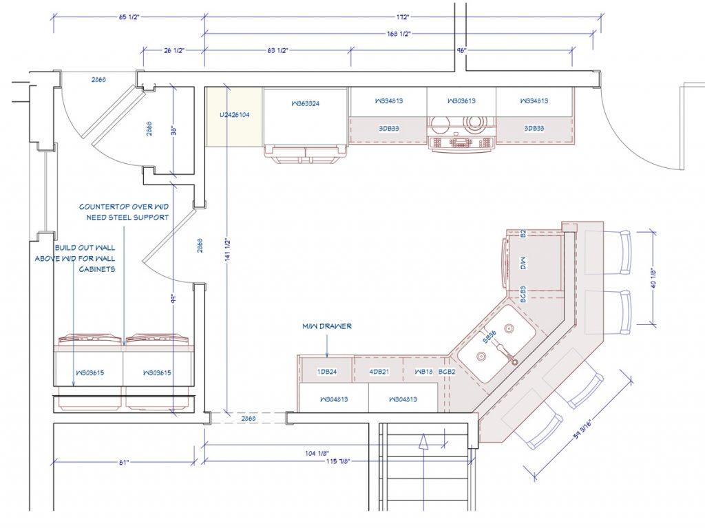 Kitchen Remodeling Budget Plan Example