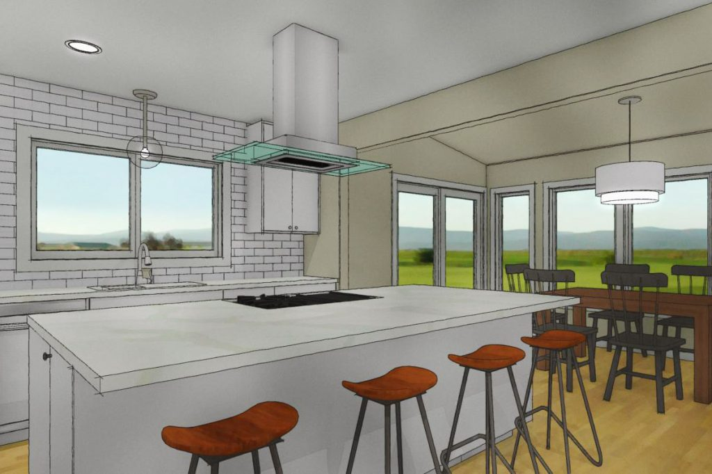 Chief Architect Kitchen Perspective Des Moines Kitchen Designer Jillian Lare