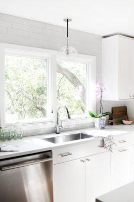 Modern White Kitchen Remodel West Des Moines Jillian Lare Interior Design