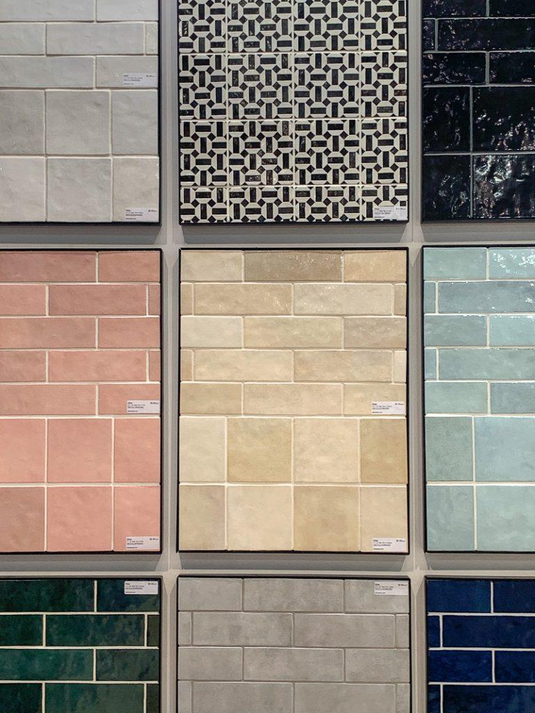 Colorful Handmade Tiles Bedrosians KBIS 2020