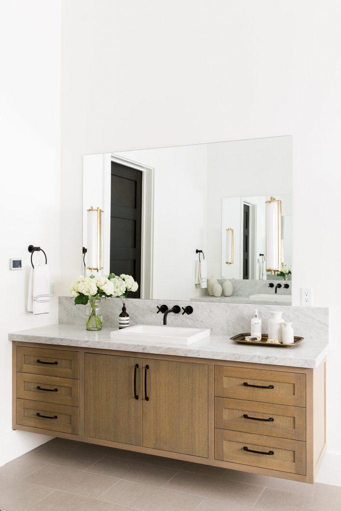 studio mcgee floating vanity