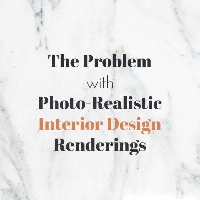 interior design renderings problems