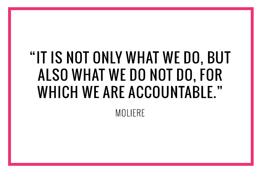 Moliere Quote Accountability