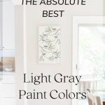 light gray paint colors