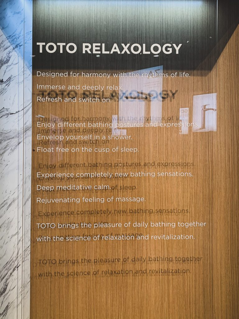 TOTO USA Relaxology