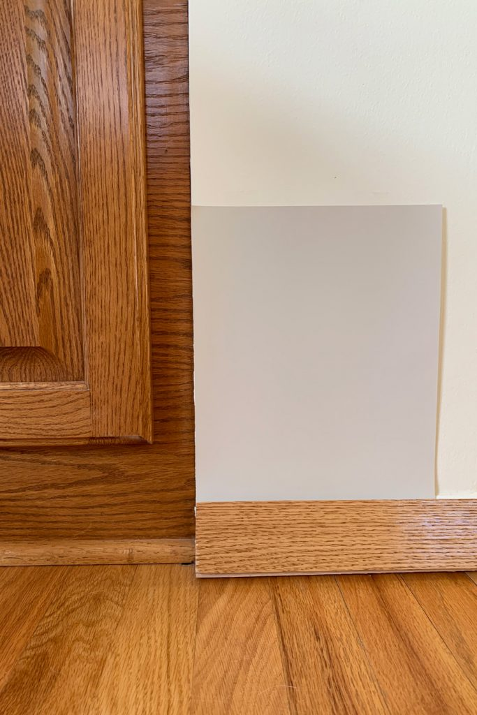 Sherwin-Williams Agreeable Gray SW 7029 with Honey Oak