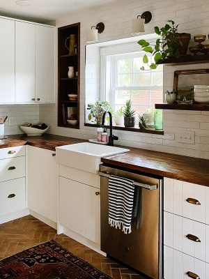 IKEA Kitchen Semihandmade Farmhouse Sink