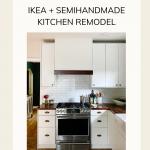 IKEA Kitchen Semihandmade