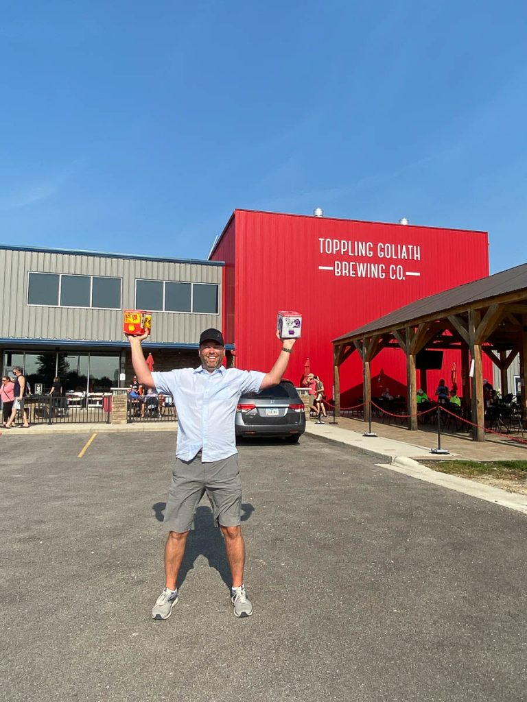 Toppling Goliath Brewery Decorah Iowa Weekend Getaway